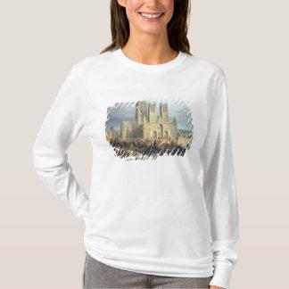 Lincoln-Kathedrale vom Nordwesten, c.1850 T-Shirt