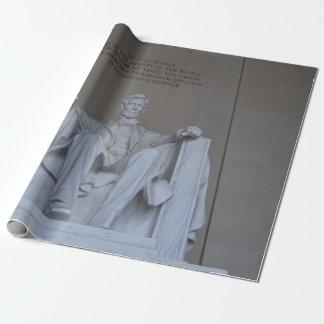 Lincoln Memorial Geschenkpapier
