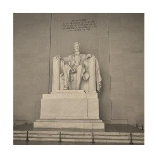 Lincoln Memorial im Washington DC Holzwanddeko