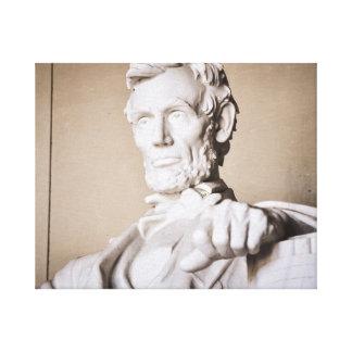 Lincoln Memorial im Washington DC Leinwanddruck