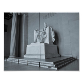 Lincoln Memorial im Washington DC Poster