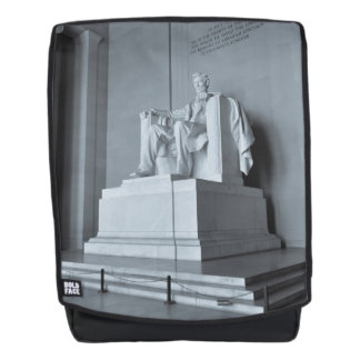 Lincoln Memorial im Washington DC Rucksack