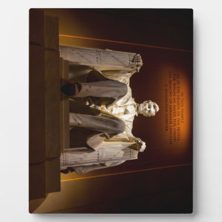 Lincoln Memorial nachts - Washington DC Fotoplatte