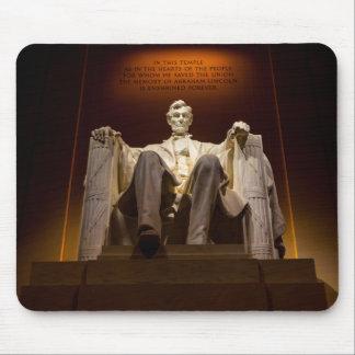 Lincoln Memorial nachts - Washington DC Mousepad