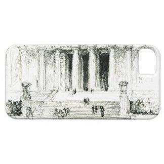 Lincoln Memorial Schritte 1922 iPhone 5 Case