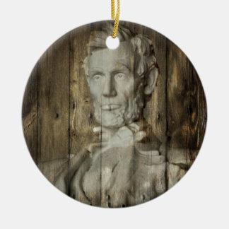 Lincoln Memorial Washington DC Abraham Lincoln Keramik Ornament