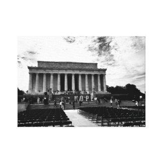 Lincoln-Monument Leinwanddruck