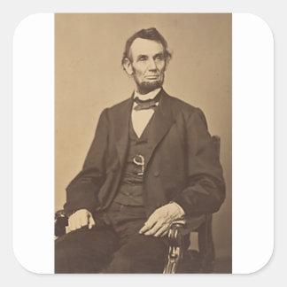 Lincoln Quadratischer Aufkleber