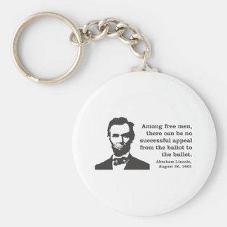 Lincoln Standard Runder Schlüsselanhänger