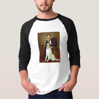 Lincoln u. sein Borzoi T-Shirt