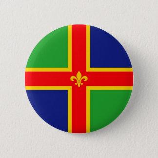 Lincolnshire-Flagge Vereinigtes Königreich Runder Button 5,7 Cm