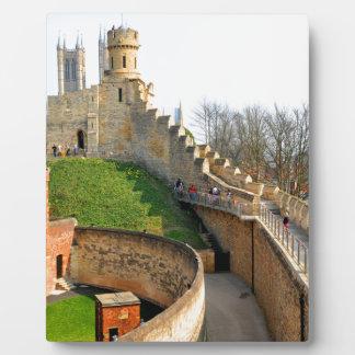 Lincon Schloss Fotoplatte