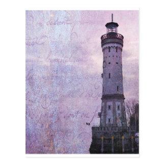 Lindau Deutschland Leuchtturm Postkarte
