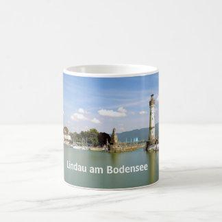 Lindau morgens Bodensee - Andenken-Tasse Tasse