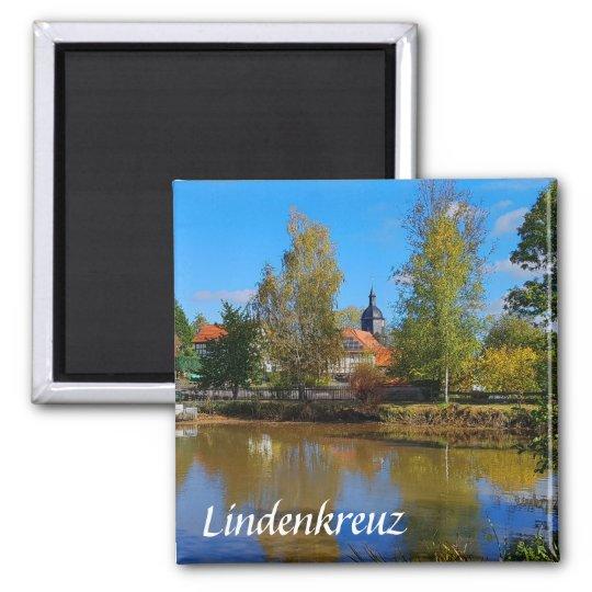 Lindenkreuz in Thüringen Quadratischer Magnet