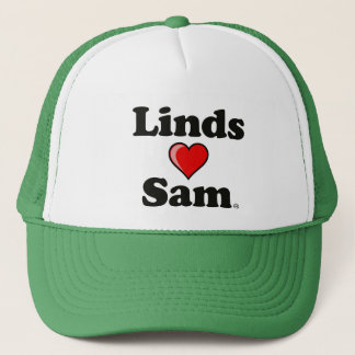 """Linds (Herz) Sam"" Hut Truckerkappe"