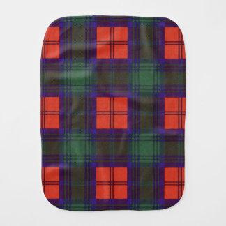 Lindsay-Clan karierter schottischer Tartan Baby Spucktuch