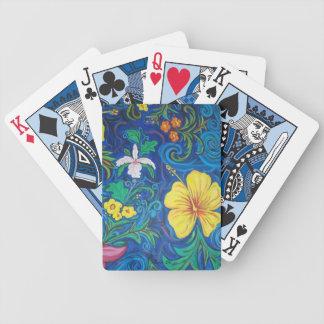 LineA Insel-Flora Bicycle Spielkarten