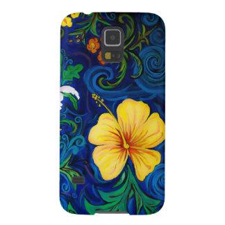 LineA Insel-Flora Samsung Galaxy S5 Hülle