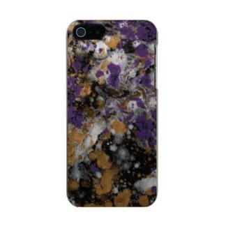 LineA lila Goldgalaxie Incipio Feather® Shine iPhone 5 Hülle