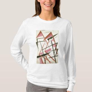 Linearer Bau, c.1921 (Gouache auf Papier) T-Shirt
