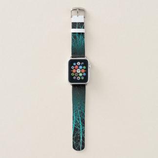 Lineares Abstract2 Blau - Apple-Uhrenarmband Apple Watch Armband