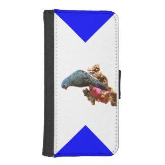Lineolated Parakeet iPhone 5 Portmonnaie