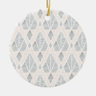 Linie Druckweihnachtsdekoration Keramik Ornament