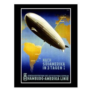 Linie HAPAG Hamburgs Amerika Linie Hamburg Amerika Postkarte