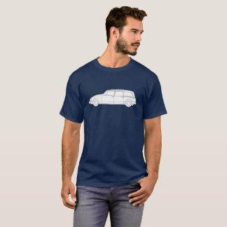 Linie Kunst Bruches | Familiale Citroëns DS T-Shirt