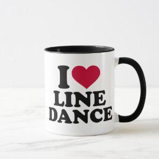 Linie Tanz der Liebe I Tasse
