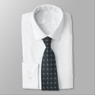 Linie und Punkte Personalisierte Krawatten