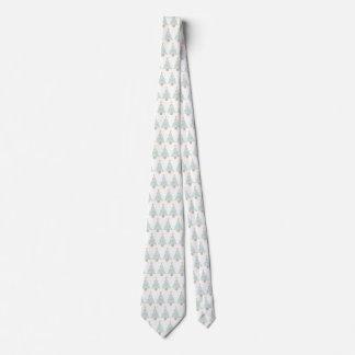 Linie Weihnachtsbaum-Hals-Krawattengeschenk Bedruckte Krawatten
