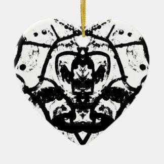 Linien Keramik Ornament
