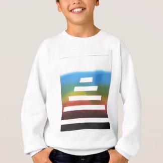 Linien von Entwürfen Sweatshirt