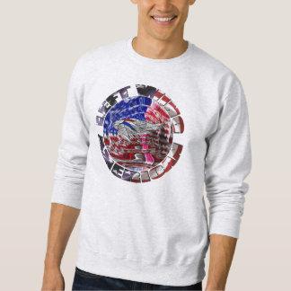 Links Flügel-Amerikaner Sweatshirt