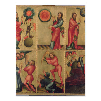 Links Flügel des hohen Altars von St Peter Postkarten