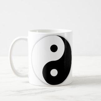 Linkshändiges Yin u. Yang Kaffeetasse