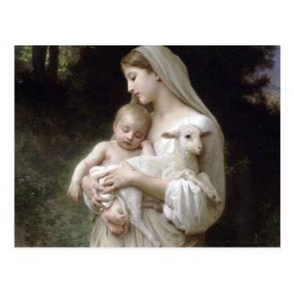 L'Innocence, William-Adolphe Bouguereau Postkarte