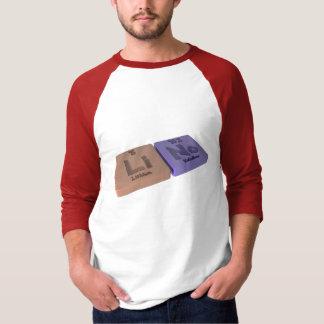 Lino als Lithium Li und kein Nobelium T-Shirt