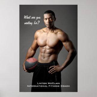 Linton McClain Plakat: Was sind Sie warteten? Poster