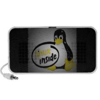 LINUX INNERHALB Tuxs das Linux-Pinguin-Logo Lautsprecher