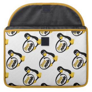 LINUX INNERHALB Tuxs das Linux-Pinguin-Logo Sleeve Für MacBooks