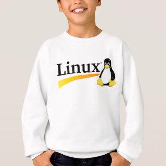 Linux-Logo mit Tux-Produkten Sweatshirt