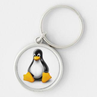 Linux Tux der Pinguin Schlüsselanhänger