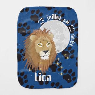Lion 23 juillet au 22 août Bavoir à rot Baby Spucktuch