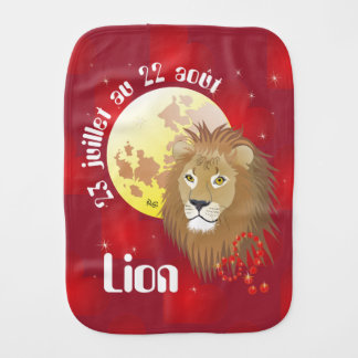 Lion 23 juillet au 22 août Bavoir à rot Spucktuch