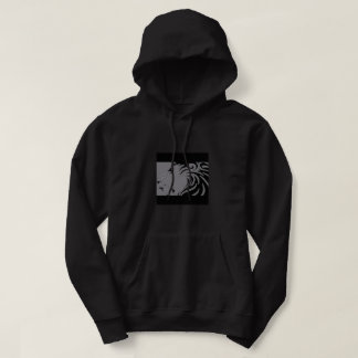lion    bl black drift hoodie
