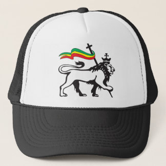 Lion of Judah - Reggae Cap - Rasta Baseball Cap Truckerkappe