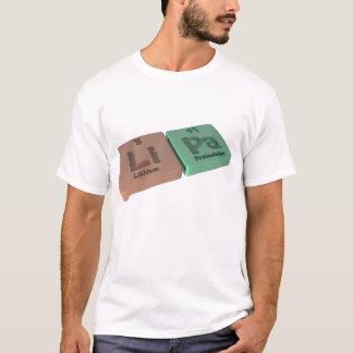 Lipa als Li-Lithium und PAProtactinium T-Shirt
